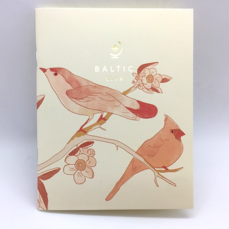 Birds Unlined Pocket Notebook by Baltic Club