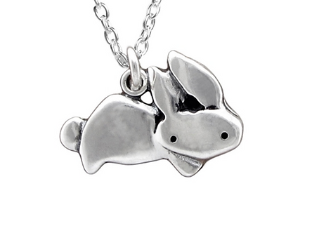 Little Rabbit Necklace by Mark Poulin