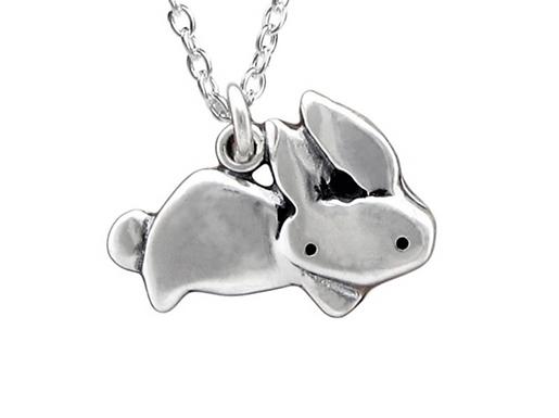 Little Rabbit Necklace by Mark Poulin