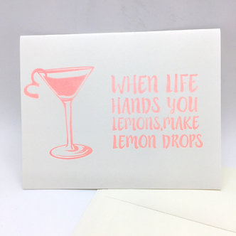Lemon Drops Card by Coffee n Cream Press