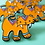 Thumbnail: Sabertooth Tiger Enamel Pin by Mark Poulin
