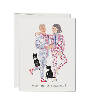 Cat's Pajamas Card by Red Cap Cards