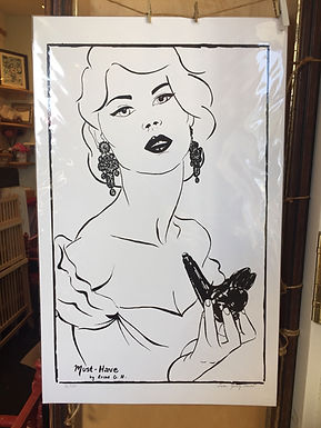 """""""Must Have"""" Limited Edition Screen Print by Erika Gómez Henao"""