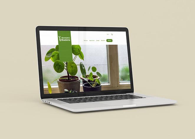 presentatie bloemsiterij boelens website