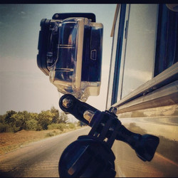 Go Pro in action!