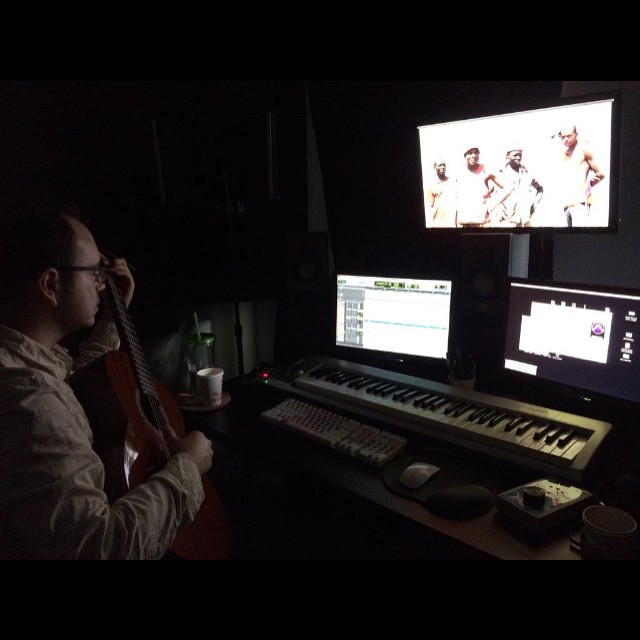 Max creating the amazing score