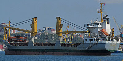 Heavy lift vessel with crane for sale