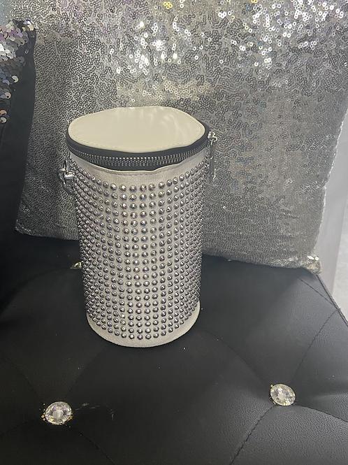 White cylinder bling