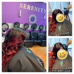 Custom closure wig install