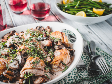Julia Child's Master-Class Recipe For Coq Au Vin