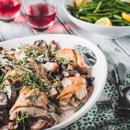 Julia Child's Master-Class Recipe For Coq Au Vin