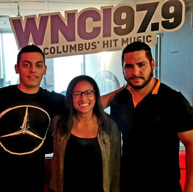 Visiting Dave & Jimmy WNCI