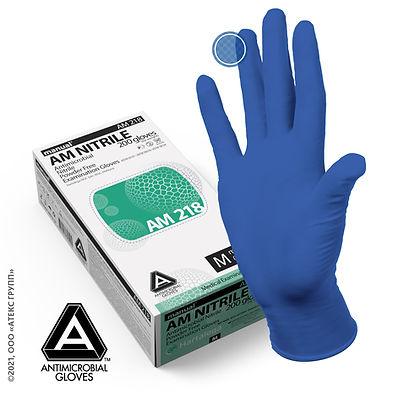 антимикробные перчатки manual AM 218