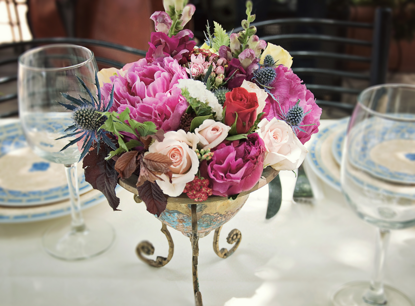 Boho-Wedding-Flowers-Arrangement