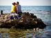 צילומי אירוסין בים