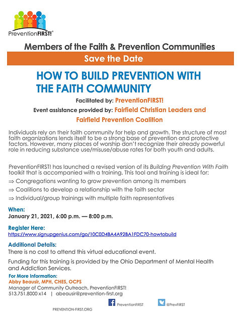 How to Build Prevention With the Faith C