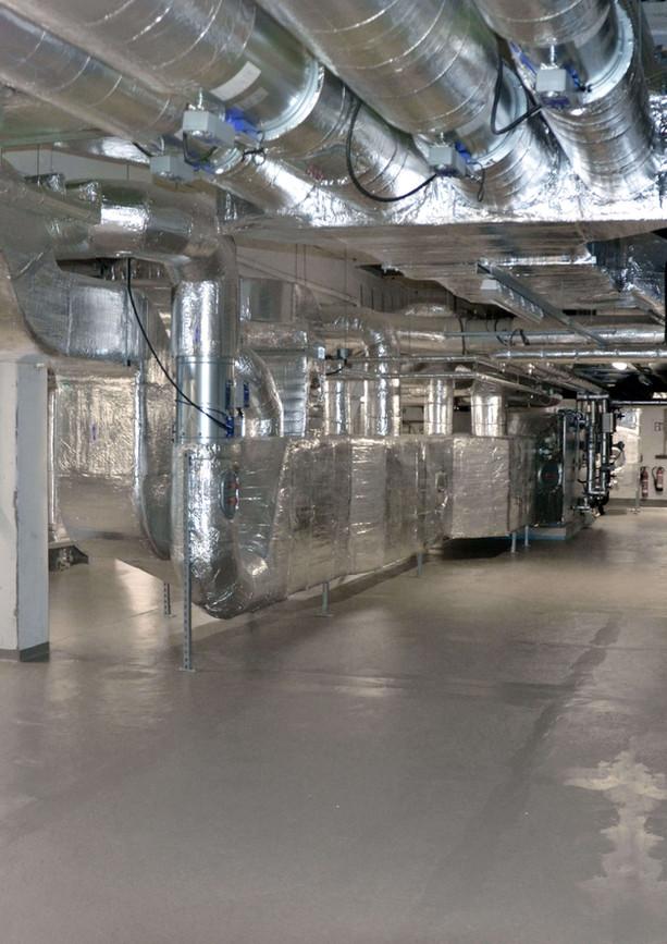 Erweiterung der Technikzentrale