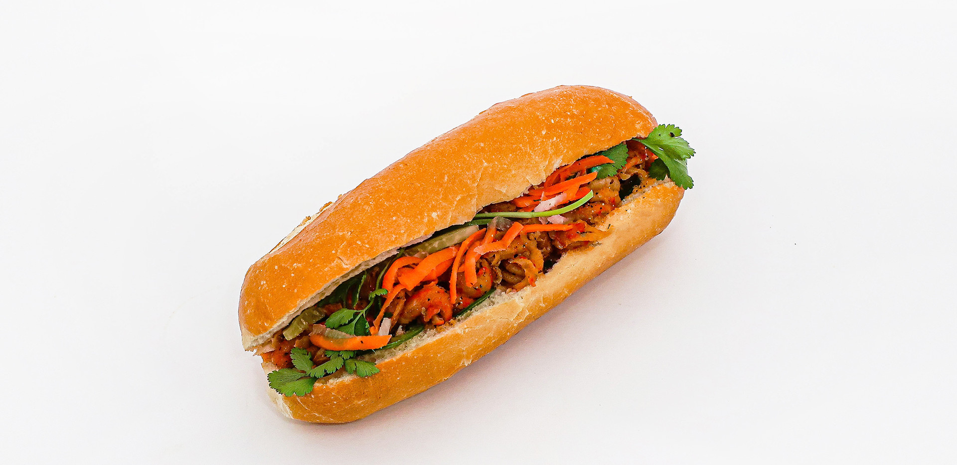 Jardin Tea Banh Mi Cajun Crawfish
