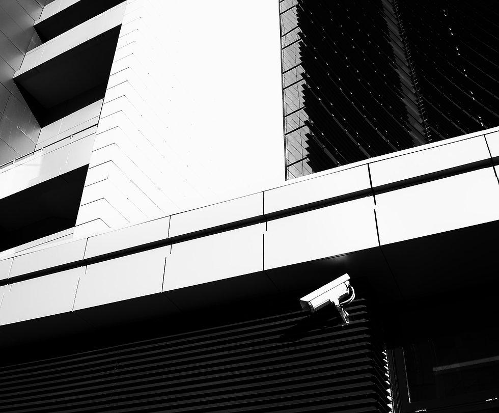 black-and-white-building-camera-cctv-558