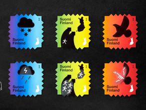 遇熱變色的郵票🌌