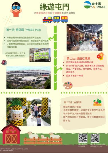 Tuen Mun Green Tour Route