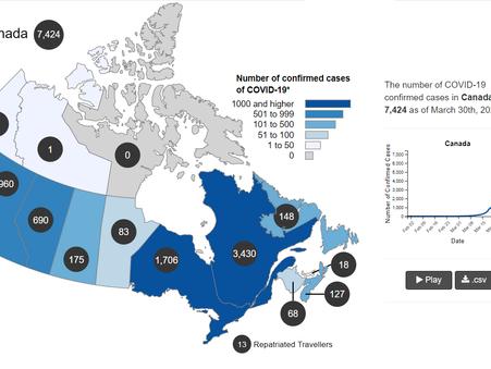 加拿大 抗疫工作與社會景況