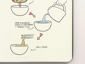 響應環保:減塑即食麵🍜