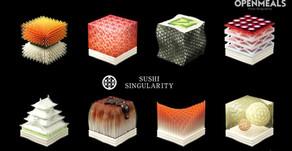 【3D打印都可以用來做壽司🍣】