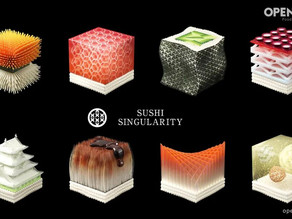 3D打印都可以用來做壽司🍣