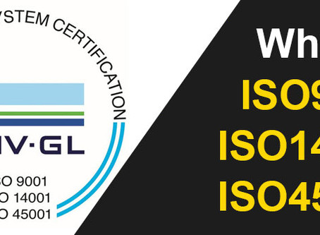 What is ISO and why we are proud of our accreditations
