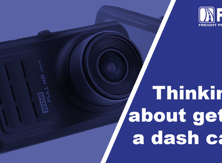 Thinking about getting a dash cam? We've got some information for you!