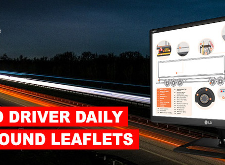 DVSA Updated driver daily walkaround leaflets