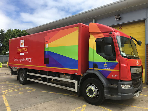 vehicle - Royal Mail Pride (12).JPG