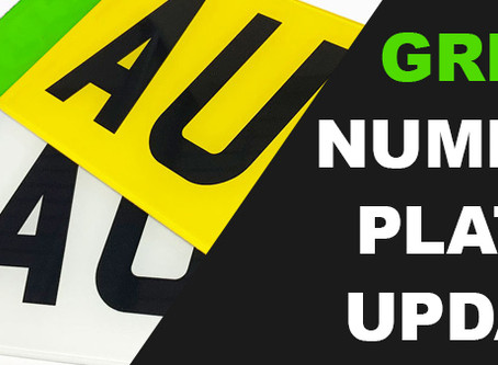 Green Number Plates update
