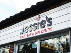 Jessie's shop front graphics