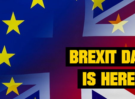 Brexit Day is here