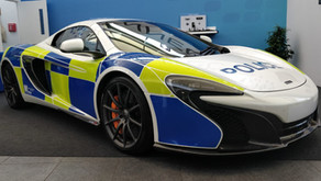 The McLaren 650 - Not your average police car