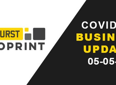 COVID-19 Business Update 05/05/20