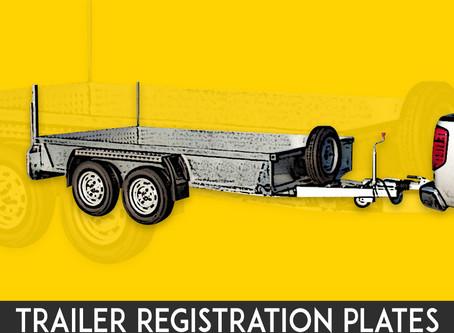 International Trailer Plate Information