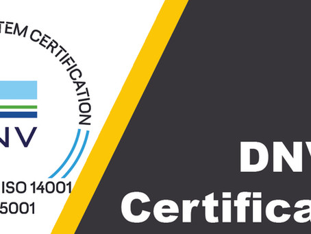 Our ISO Certifications