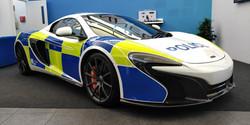 McLaren Police Livery