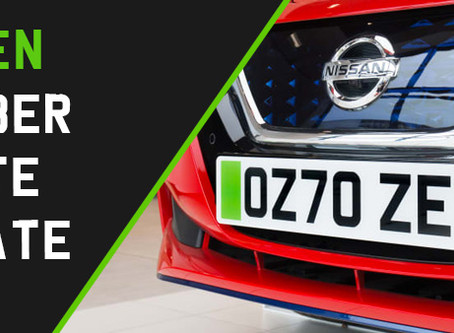Green Number Plates update 21.10.20