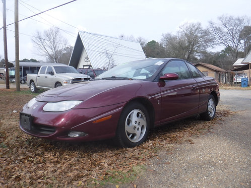 2002 Saturn 3 door Coupe