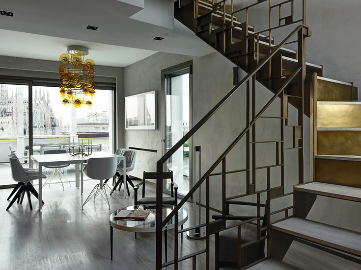 Custom made balustrade