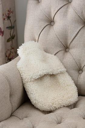 Teddy Cropped Sheepskin Hot Water Bottle Cover