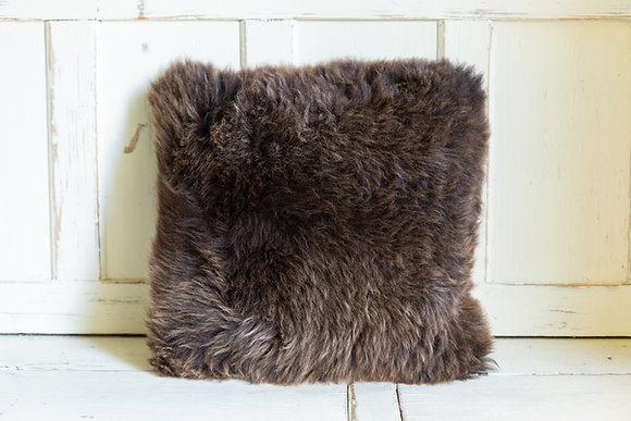 Brown Welsh Mountain Cushion Double Sided