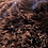 Thumbnail: Chocolate Brown Three Legged Stool