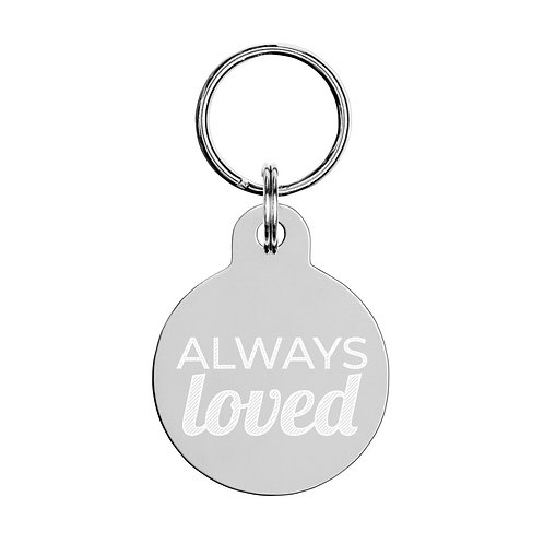 Keychain for School Readiness: Always Loved
