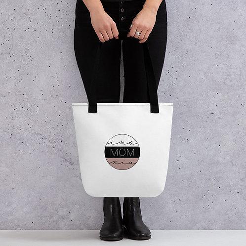 InsMOMnia Logo Tote Bag