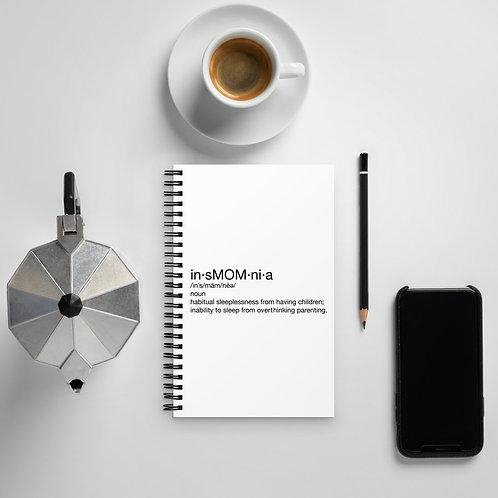 insMOMnia Definition Spiral notebook